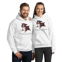 Unisex Hoodie- Footloose Bunsen - Everything is Pawesome