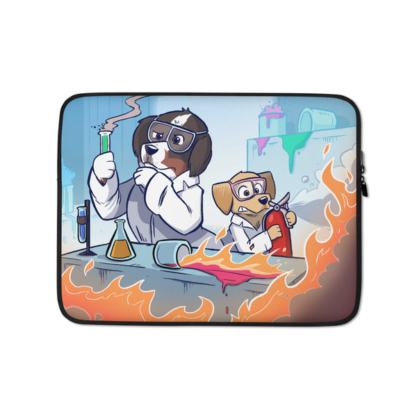 Laptop Sleeve-Mad Science