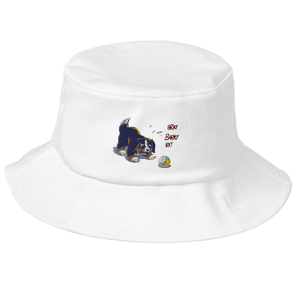 Old School Bucket Hat- Baby Bunsen
