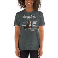 Short-Sleeve Unisex T-Shirt: Bernermom