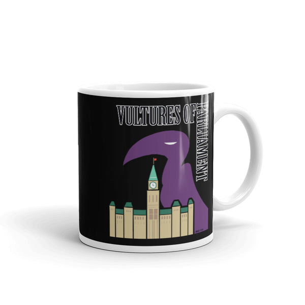 Mug- Vultures of Parliament Band (with Tour Locations on the Back!)