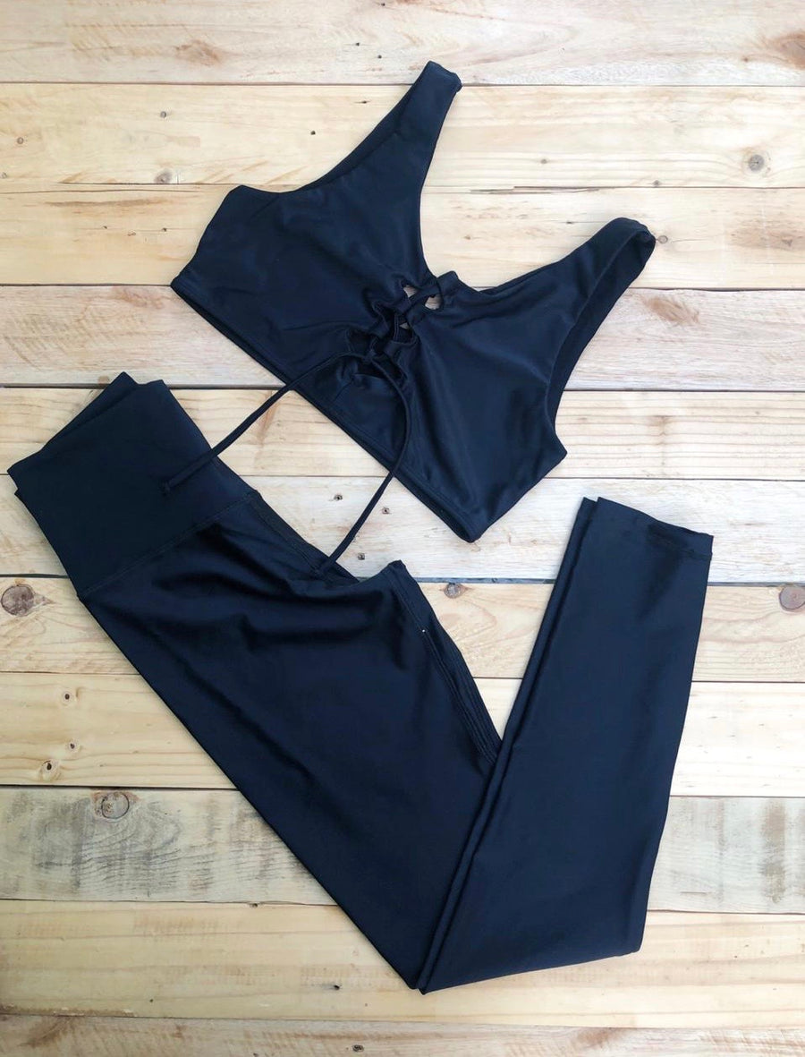 Conjunto Leonor Black