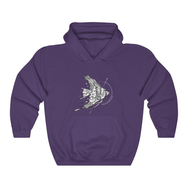Christopher Scott - Angel Fish - Unisex Heavy Blend™ Hooded Sweatshirt