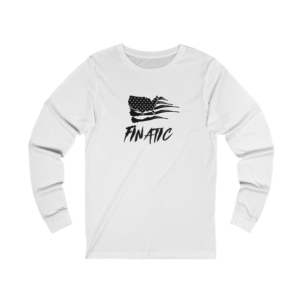Finatic Flag - Unisex Jersey Long Sleeve Tee