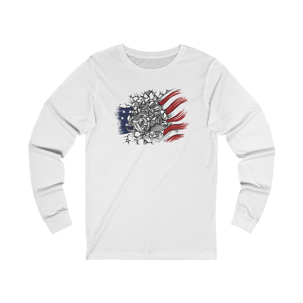 Christopher Scott - Arowana USA - Unisex Jersey Long Sleeve Tee