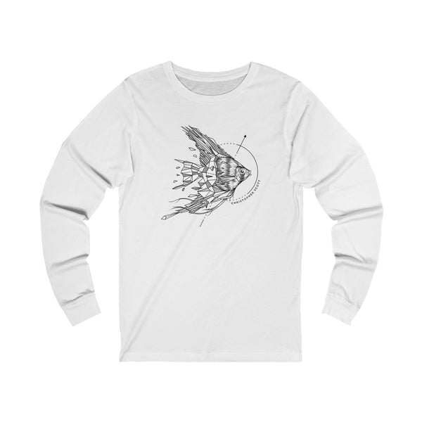 Christopher Scott - Angel Fish - Unisex Jersey Long Sleeve Tee