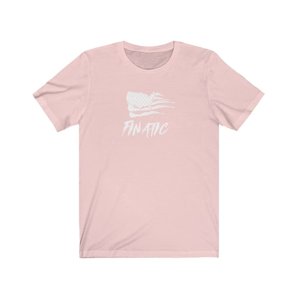 Finatic White Flag - Unisex Jersey Short Sleeve Tee