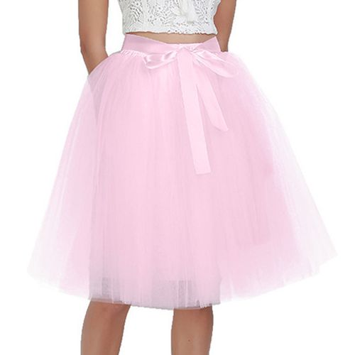 6Layers 65cm Fashion Tulle Skirt