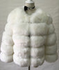 Image of S-3XL Mink Coats Women Winter Top Fashion Pink FAUX Fur Coat
