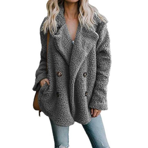 Thick Warm Ladies Teddy Bear Coat Winter Coats