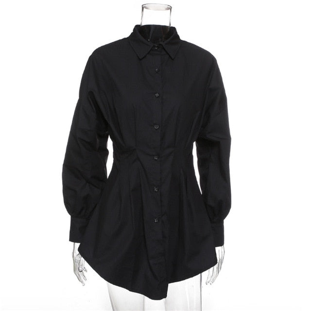 Office Lady Elegant Shirts Female Blouses