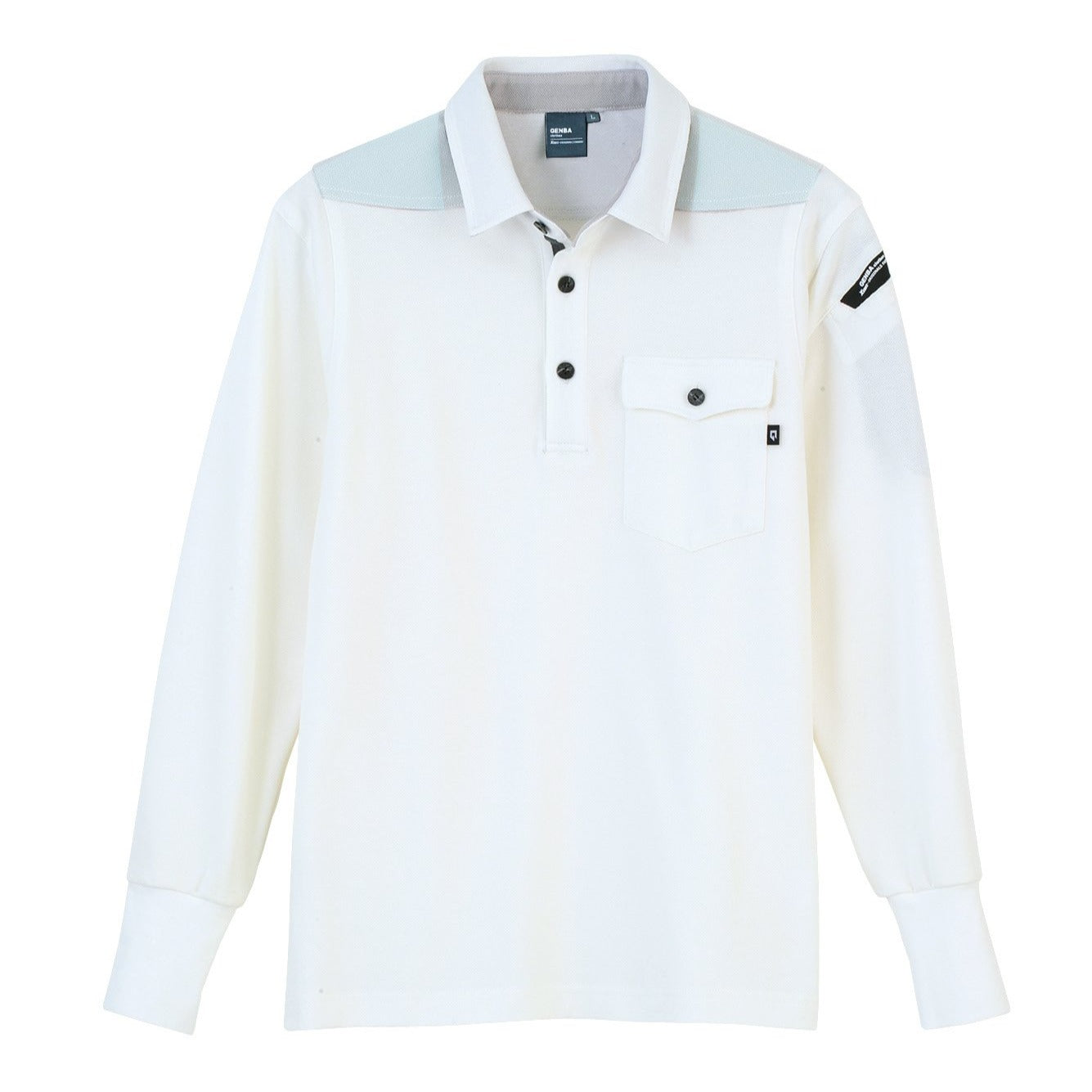 XEBEC 6055 Long sleeve polo shirt