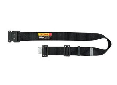 Tajima BWBM125-BK  Body belt Aluminum One touch buckle