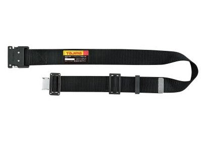Tajima BWBL145-BK  Body belt Aluminum One touch buckle
