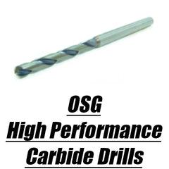 OSG High Performance Carbide Drills