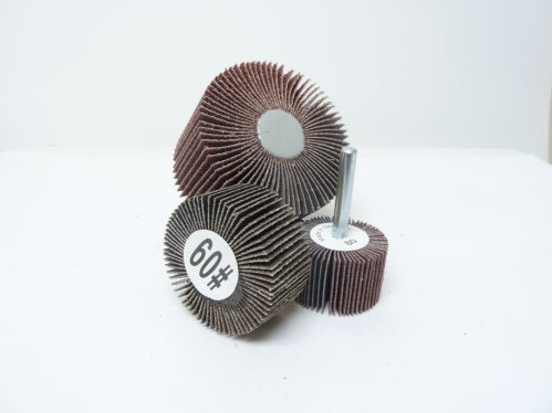 "2"" x 1"" x 1/4"" 60 Grit Flap Wheel"