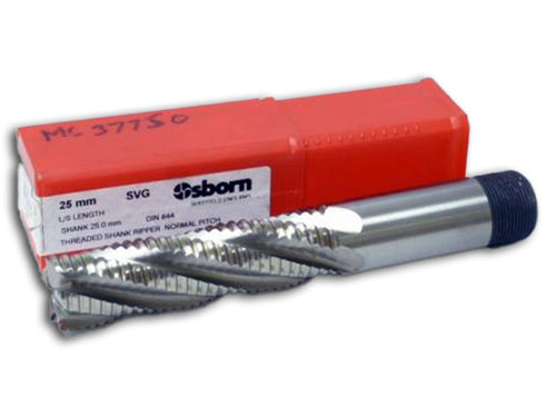 25.0mm 5 Flute Roughing End Mill HSSCo - Osborn