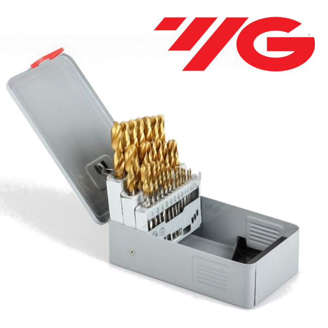 1-56 Gold Point Jobber Drill Set - YG-1