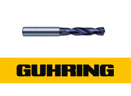 9mm Carbide Drill 3xD FIREX Coated - GUHRING 55140090000