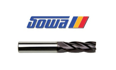 "3/4"" 4 Flute Carbide End Mill Tialn - Sowa"