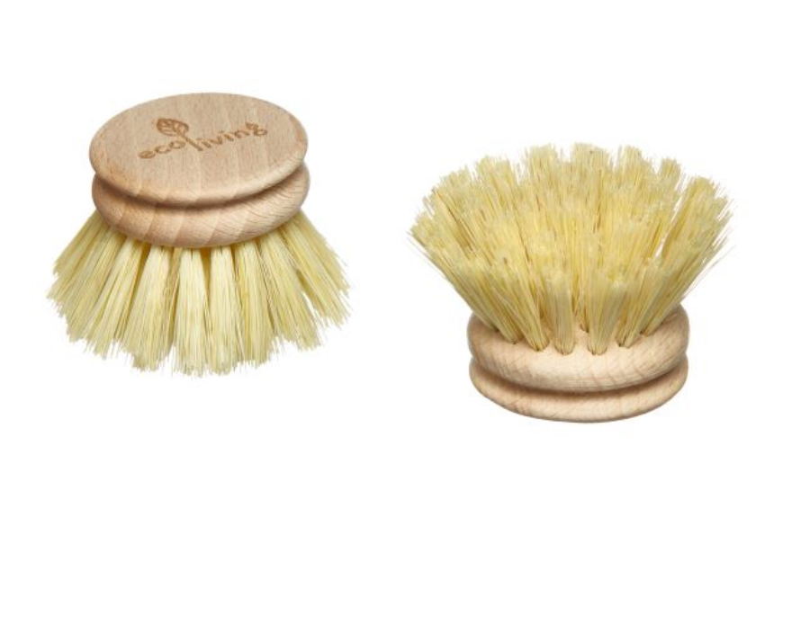 Wooden Dish Brush - Replacement Head (FSC 100%)