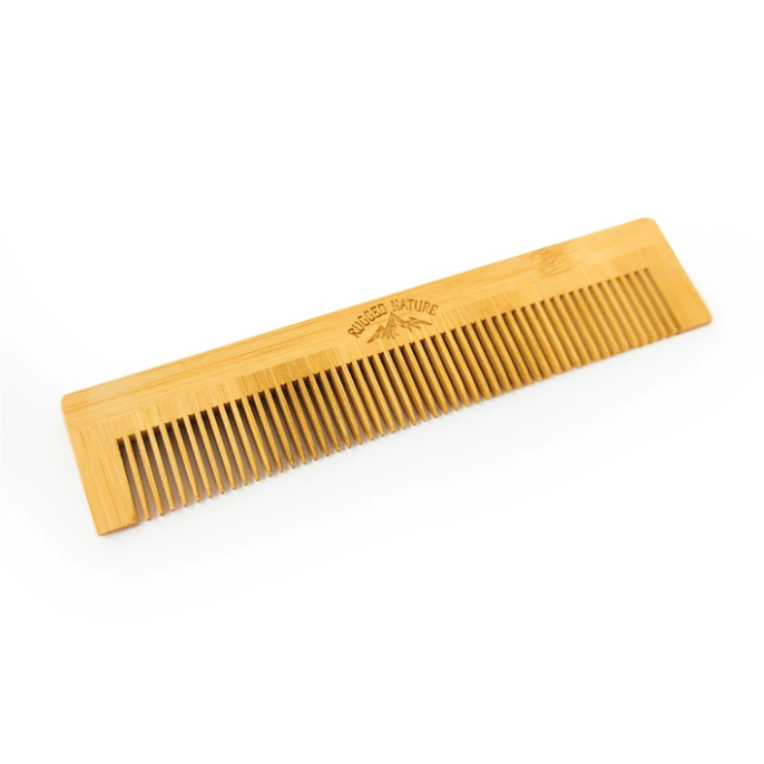 RUGGED NATURE - Bamboo Pocket Comb