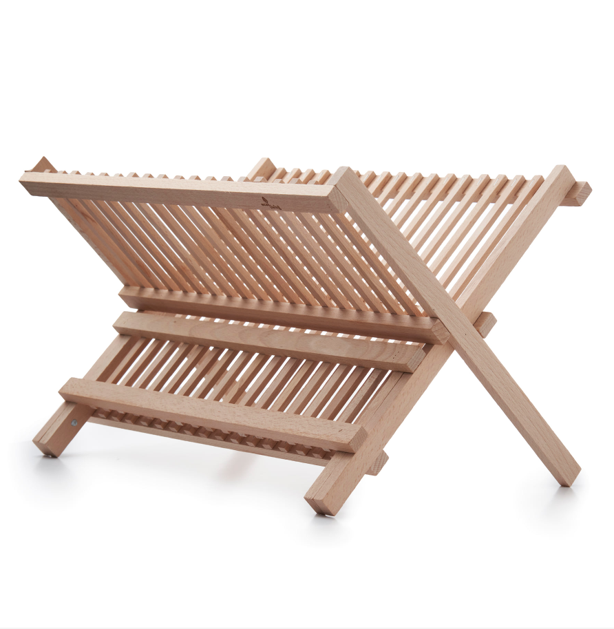 Sustainable Beech Wood Dish Drainer