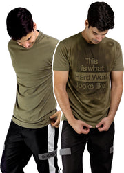 sweat activated shirt hard work invisible message