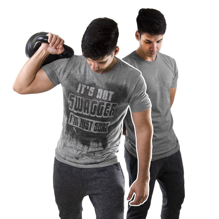 Workout Shirt Sweat Activated Tee for Men
