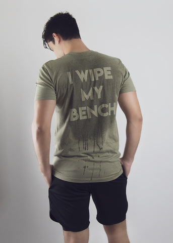 I Wipe My Bench
