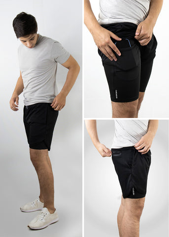 EPSILON Two Layer Gym Short