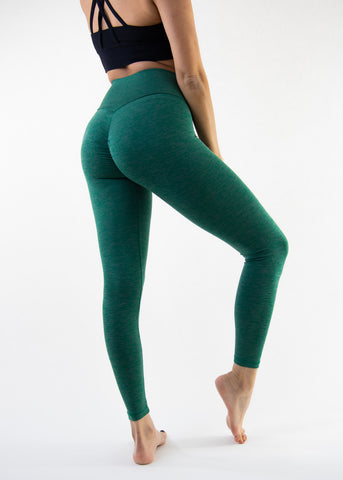 Tau High-Waisted Crossed Leggings