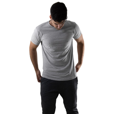 Sweat Activated Invisible Message Workout Tee for Men