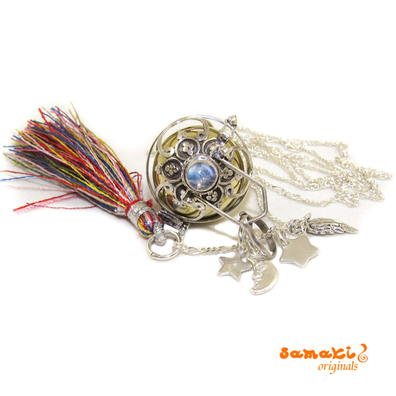Engelsrufer Mondstein Sterlingsilber Kette sweet dreams, Set, 70 cm - Lebenslust - samaki originals