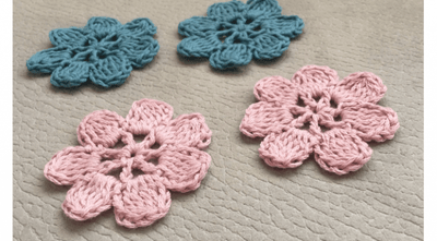 Tutorial di Uncinetto: Fiore Decorativo all'Uncinetto