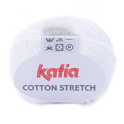 Katia Cotton Stretch colore 1 Emma Fassio