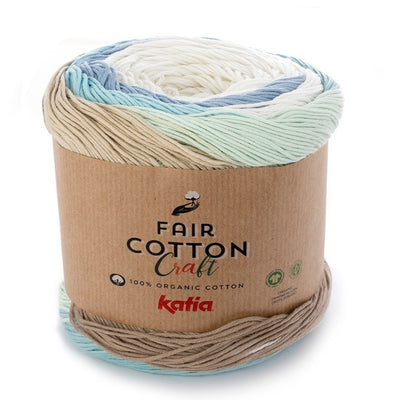 Katia Fair Cotton Craft colore 502 Emma Fassio