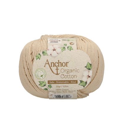 Anchor organic cotton 100% cotone organico 387