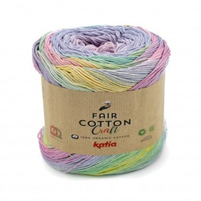 Katia Fair Cotton Craft colore 603 Emma Fassio