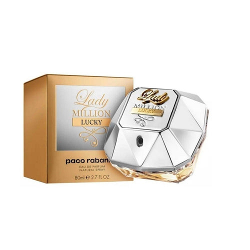 Perfume Paco Rabanne Mujer Lady Million Lucky 80ml