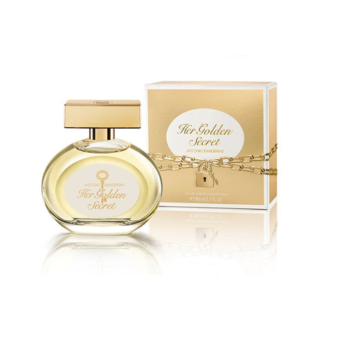 Perfume Antonio Banderas Mujer Her Golden Secret 80ml