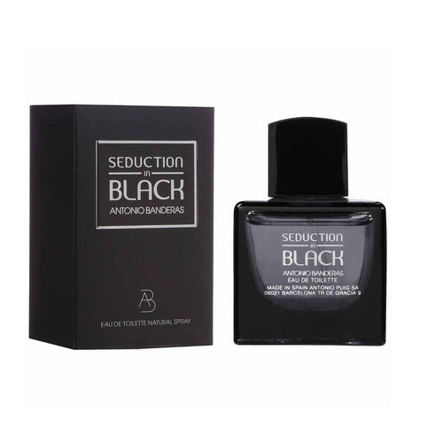 Perfume Antonio Banderas Hombre Seduction in Black 100ml