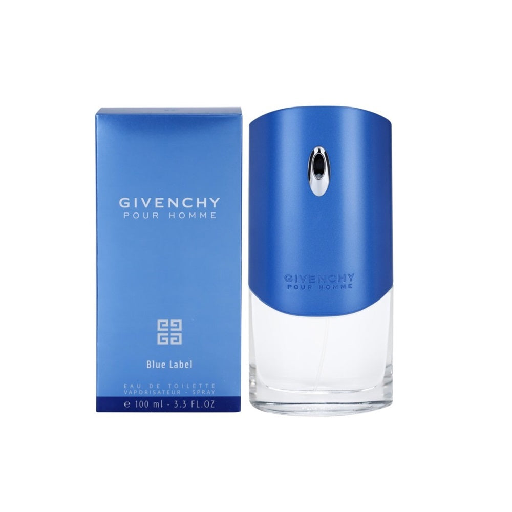 Perfume Givenchy Hombre Pour Homme Blue Label 100ml