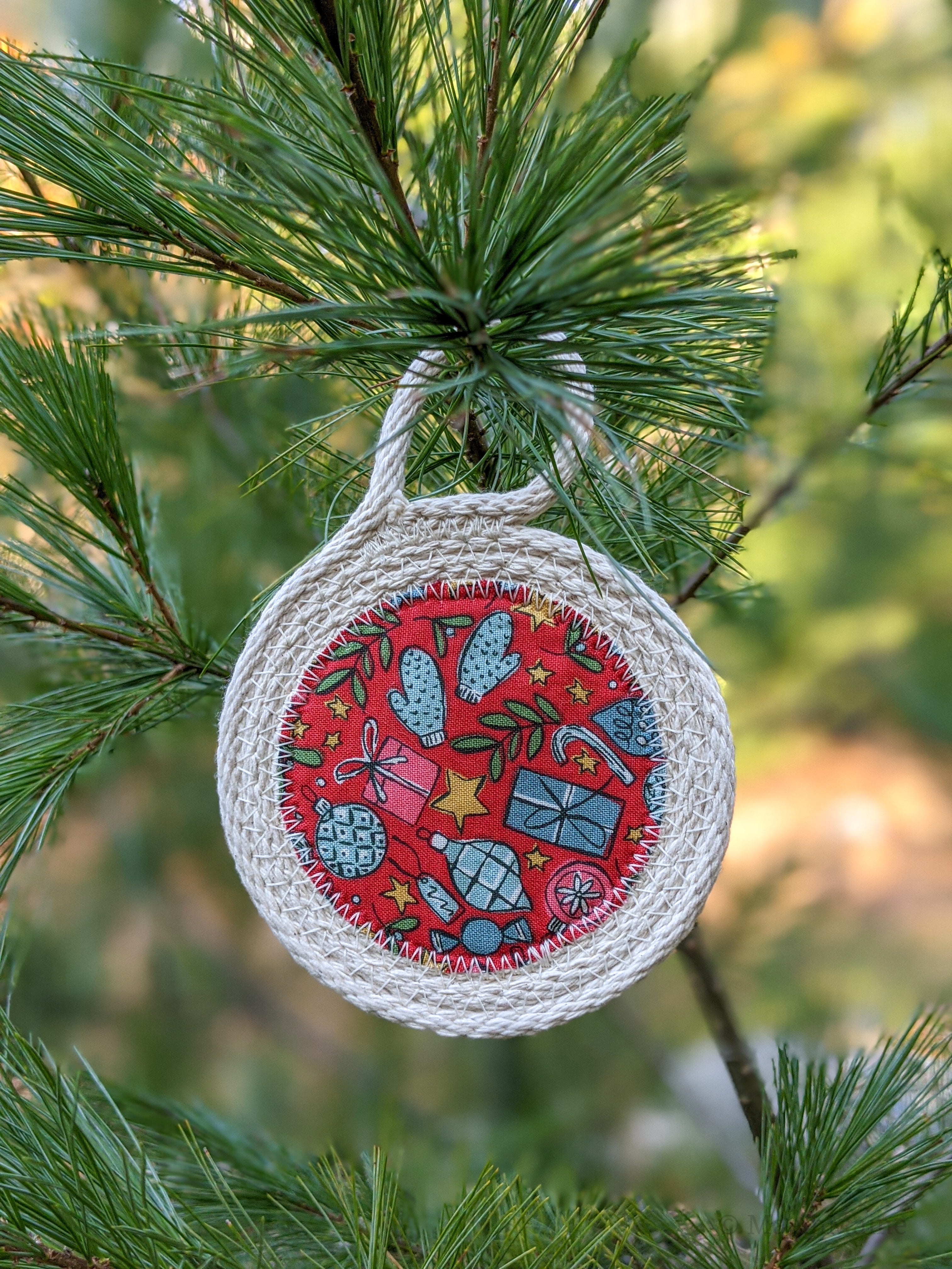 DIY Rope Holiday Ornament Kit