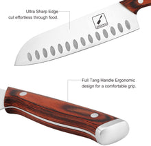 Load image into Gallery viewer, imarku 7-Inch Kitchen Santoku Knife