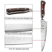 Load image into Gallery viewer, imarku Damascus Knife 8 Inch