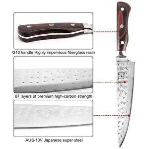 imarku Damascus Knife 8 Inch