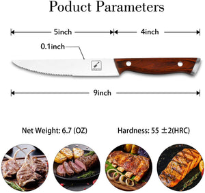 imarku 6-Piece Steak Knife Set