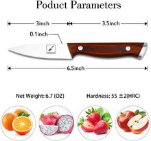 Load image into Gallery viewer, imarku 3-Inch Kitchen Paring Knife