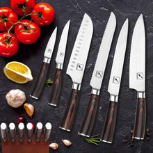 Load image into Gallery viewer, Kitchen Knife Set, imarku 16-Piece Knife Set with Removable Steak Knife Block